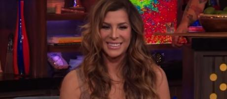 Siggy Flicker believes that the RHONJ storyline is against her this season. [Image via Watch What Happens Live/YouTube screencap]