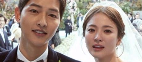 Song Joong Ki and Song Hye Kyo are officially married. Source: SongJoongKiOnly/Instagram