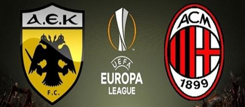 AEK Atene-Milan, Europa League
