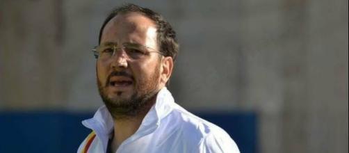Angelo Bognanni, allenatore dell'Atletico Campofranco