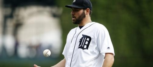 Are the Tigers shopping Michael Fulmer? [Image via Mlive/YouTube]