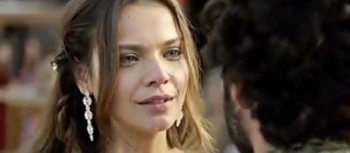 Asher se declara para Joana (Foto: Reprodução/Record TV)