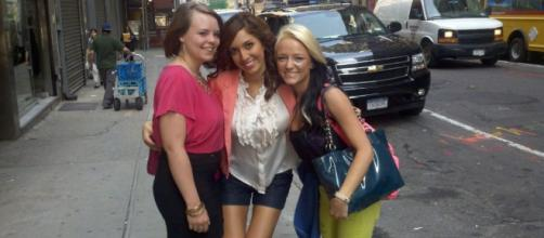 Catelynn Lowell, Farrah Abraham, and Maci Bookout in NYC. [Photo via Twitter]