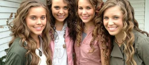 Duggar girls from social network post