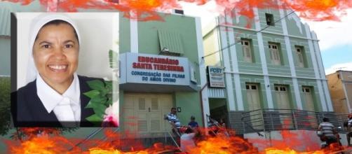 Educandário Santa Teresinha, local onde ocorreu incêndio que matou freira