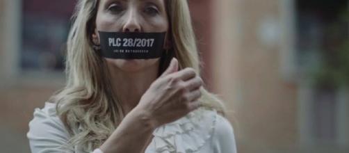 Empresa inciou uma campanha maciça na TV e Internet para mudar o PLC 28/2017