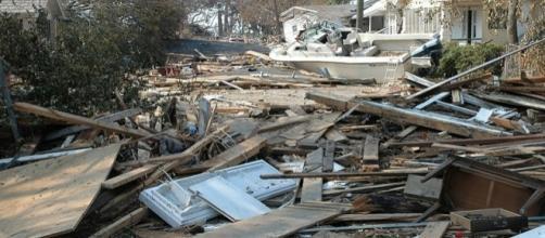 Hurricane damages (Image credit – Mark Wolfe – Wikimedia Commons)