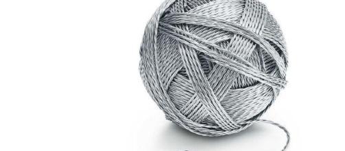 Il gomitolo in argento realizzato da Tiffany & Co. - international.tiffany.com-
