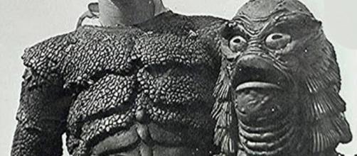 Imagen de Ricou Browning en el rodaje de El Monstruo de la Laguna Negra (Via Wikipedia).