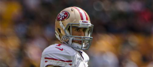 In the eyes of a dreamer, all things are possible. Image via - creative commons File:Colin Kaepernick - San Francisco vs Green Bay 2012.jpg