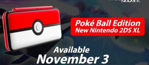 New Nintendo holiday bundles announced including a Pokemon themed 2DS XL - via YouTube/Nintendo
