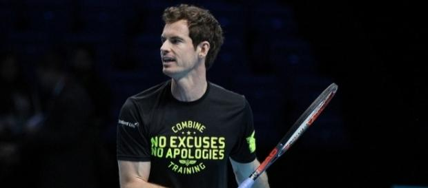 Andy Murray during a practice session a the 2016 ATP World Tour Finals. Image Credit: Marianne Bevis, Flickr -- CC BY-ND 2.0