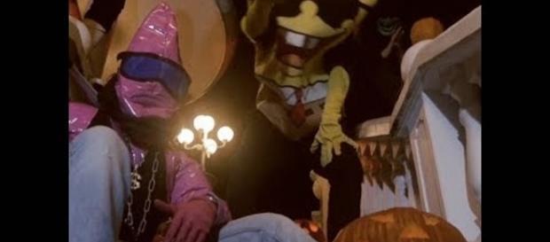 Ausschnitt aus dem Song Halloween von SpongeBOZZ