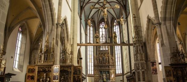 Bardejov, wnętrze bazyliki św. Idziego (fot. własne Autora)