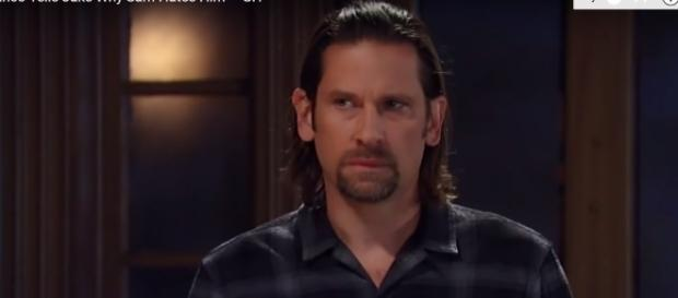 Franco knows that Andrew is alive. (image via ABC soaps/youtube screencap).