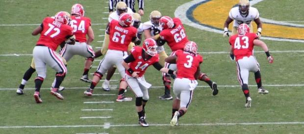 Georgia is ranked number one in the first College Football Playoff rankings - Thomson 20192 via Flickr