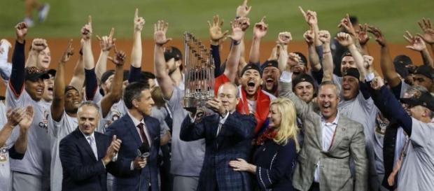 Los Astros consiguieron el primer título de Serie Mundial de su historia. -houstonchronicle.com.