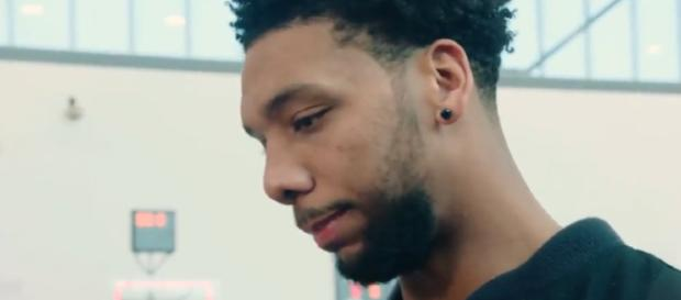 Sixers' Jahlil Okafor could be traded anytime – [image credit: Sixers Media/Youtube screencap]