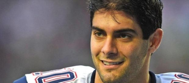 The Cleveland Browns eyed Jimmy Garoppolo at trade deadline - [image credit: 4everEnergy/Flickr]