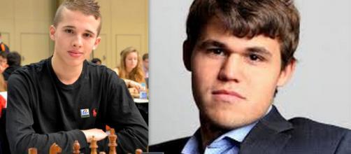 Bilel Bellahcene y Magnus Carlsen recuerdan el Mate del Pastor o Mate Estudiantil