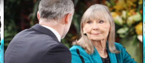 Dina is out of control without Graham. (Image via Y&R_CBS soaps YouTube screencap)