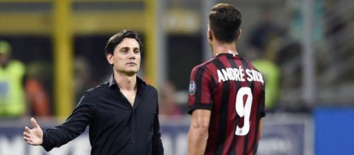 Il difficile feeling tra il tecnico rossonero e André Silva