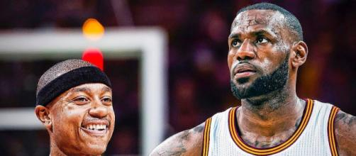 LeBron James speaks about how Isaiah Thomas' return will affect the Cavaliers Image Credit: CliveNBAParody/Youtube