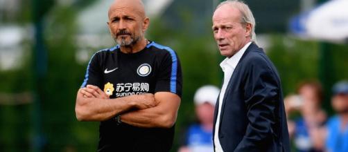 Luciano Spalletti e Walter Sabatini