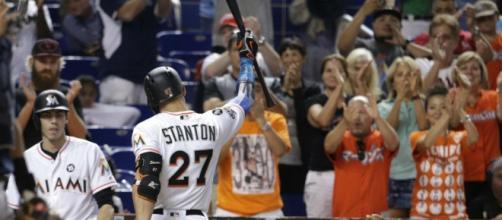 Is Giancarlo Stanton done in Miami? [Image via Sportsnet/YouTube]