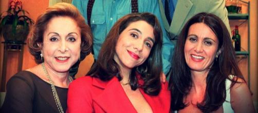 Morre Márcia Cabrita (à direita) de ''Sai de Baixo''