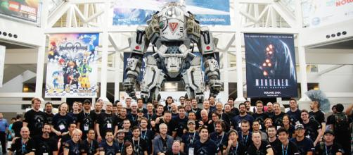 Photo of Respawn Entertainment Titanfall team at E3 2013 Image Credit: Respawn/Wikimedia Creative Commons