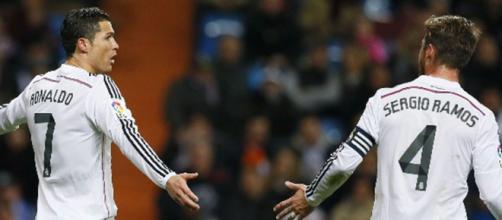 Se enoja el capitán del Real Madrid con CR7