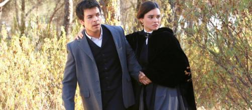 Una Vita anticipazioni: Leonor e Pablo fuggano da Acacias 38