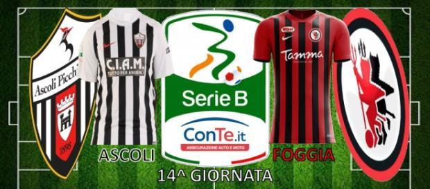 Ascoli Picchio e Foggia Calcio si sfideranno nella 14^ giornata del campionato di Serie B ConTe.it 2017/18.