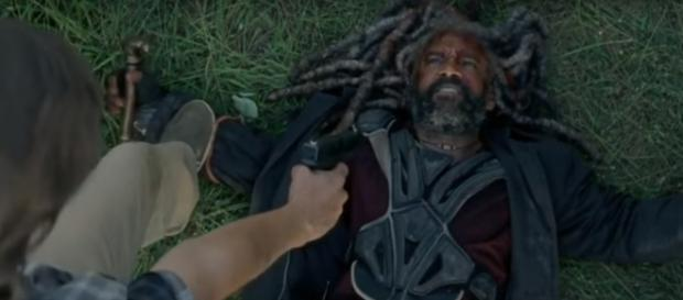 Ezekiel in 'TWD' 8x04 / Image via Daryl Dixon, YouTube screencap