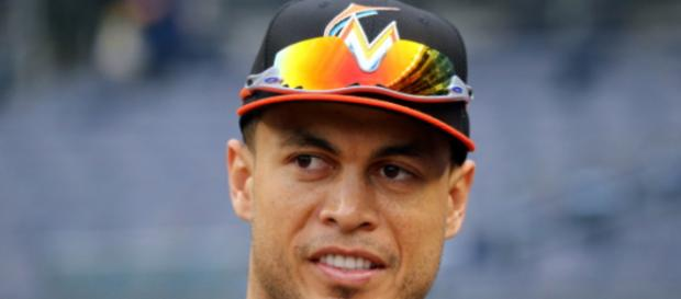 Giancarlo Stanton paced the majors in home runs and RBIs in 2017. Image Source: Flickr | Arturo Pardavila III