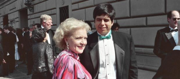Golden Girls star Betty White at the 1991 Emmy Awards [ image credit: Alan Light/ Wikimedia Common ]