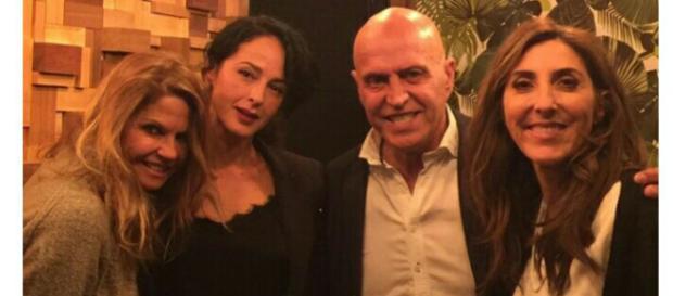 Kiko Matamoros visita a Paz Padilla