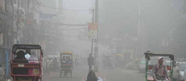 """Le nuage de pollution surnommé """"Airpocalpse"""" résiste depuis trois jours et ne diminue pas."""