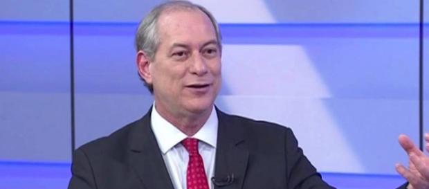 O presidenciável Ciro Gomes: otimista
