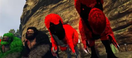 A couple of Alpha Dodorex in 'ARK's' Extinction Core server - YouTube/ KingDaddyDMAC