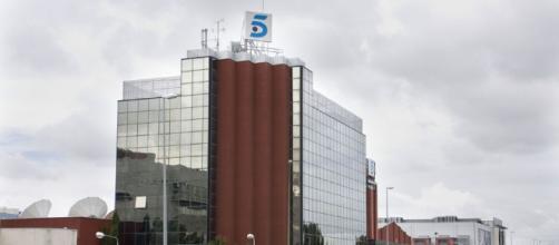 El edificio de principal de Telecinco.