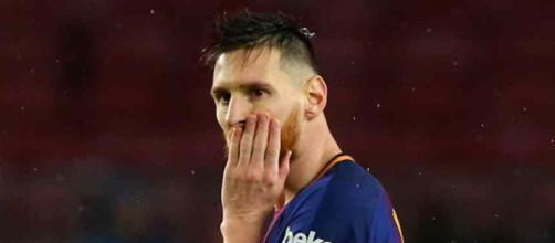Leo Messi está dificultando para o Barça