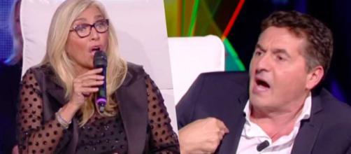 Tu si que vales: Mara Venier ha discusso con Teo Mammucari durante la trasmissione