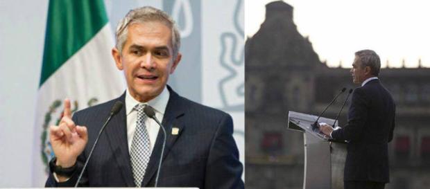 El jefe de Gobierno, Miguel Ángel Mancera