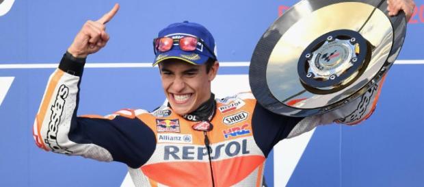 Moto GP- Gp di Valencia: Marquez vince il titolo mondiale ... - superscommesse.it