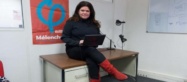 Raquel Garrido quitte la France Insoumise