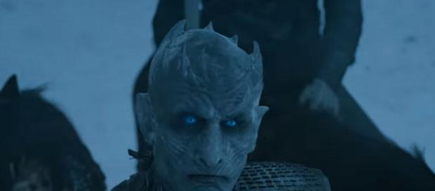 The Night King is a 'Game of Thrones' character. / Image: screenshot via GameofThrones channel on YouTube