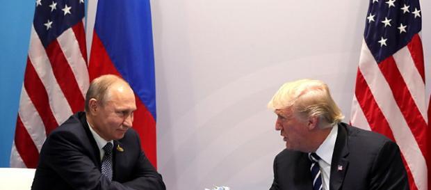 Trump and Putin - Image credit kremlin ru