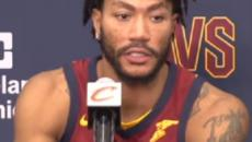 NBA Injury Updates: Cavs' Derrick Rose still out; Nets PG, Jazz center sidelined